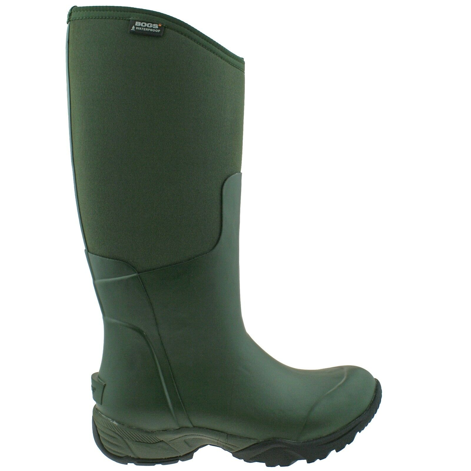 LADIES BOGS ESSENTIAL TALL SOLID OLIVE INSULATED WARM WELLIES Stiefel Stiefel Stiefel 78583 303 8fc011