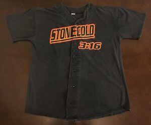 """Stone Cold Steve Austin /""""3:16/"""" Baseball Jersey"""