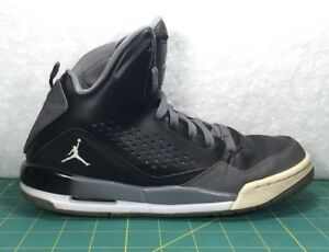 best loved 68fb7 4f9a5 Details about Nike Air Jordan Flight SC 3 Black Gray Basketball Shoes  Sneakers Sz 7 629942-013