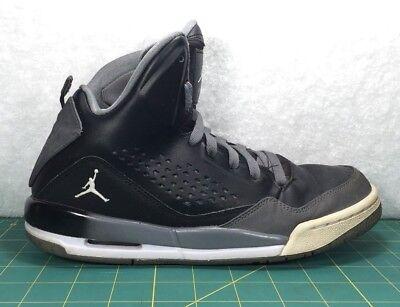 Nike Air Jordan Flight SC 3 Black Gray Basketball Shoes Sneakers~Boy's Size  7Y | eBay