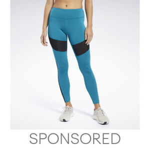Reebok Women's Workout Ready Mesh Tights