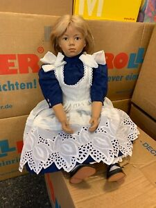 Sigikid Ilse Wippler Vinyl Puppe 68 cm. Top Zustand