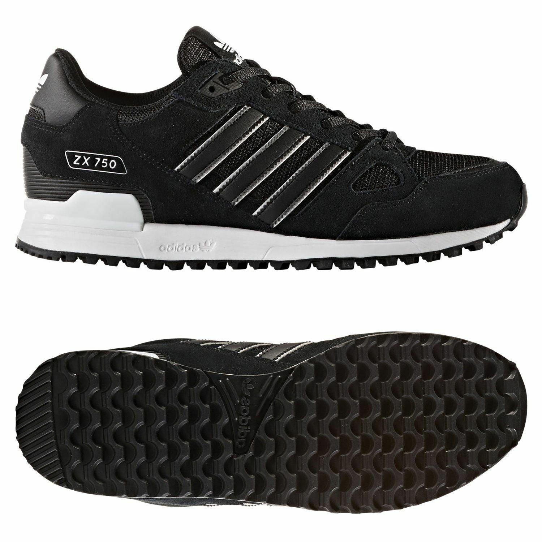 2bcf71b01907e adidas ZX 750 Black White Classic Men Women Running Shoes SNEAKERS ...
