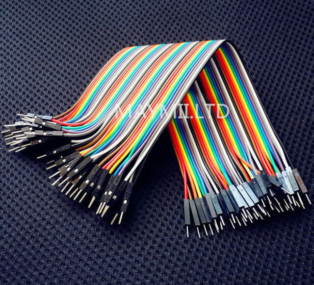 Arduino Shield 40pin 20cm Male To Male 2.54MM 1P-1P Multicolor Dupont Cables Hot
