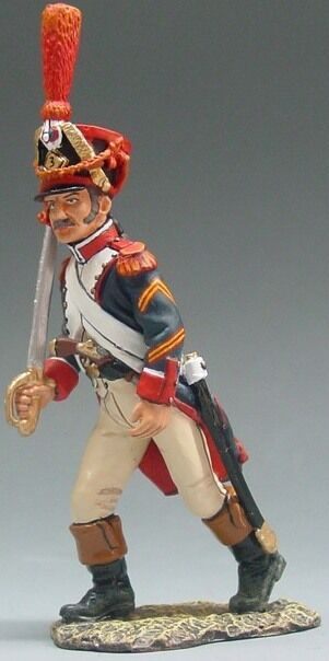 KING & COUNTRY THE AGE OF NAPOLEON NA013 FRENCH GRENADIER OFFICER MIB
