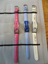 New Old Stock LeJour Lot 3 SAMPLE DUMMY WATCHES REPAIR PARTS I LOVE series