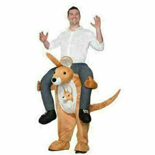 Kangaroo Piggyback 'Ride-On' Costume for Adults