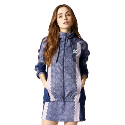 Hooded Windcheater Full Windbreaker Womens adidas Zip Shell Originals Giacca xR7qP0a