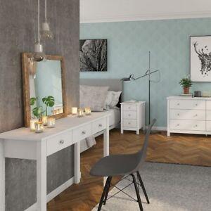 Details zu Hailey Bedroom Shaker Style Dressing Table Desk Modern Makeup -  UK Dispatch