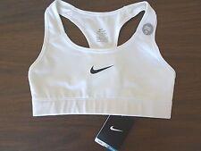 Nike Womens Victory Compression Sports Bra White/black All Sizes XS