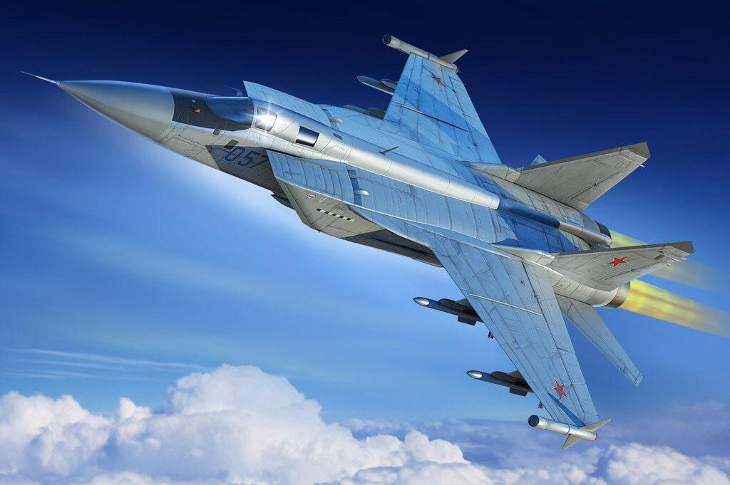 Hobby Boss 1 48 Russian MiG-31M Foxhound