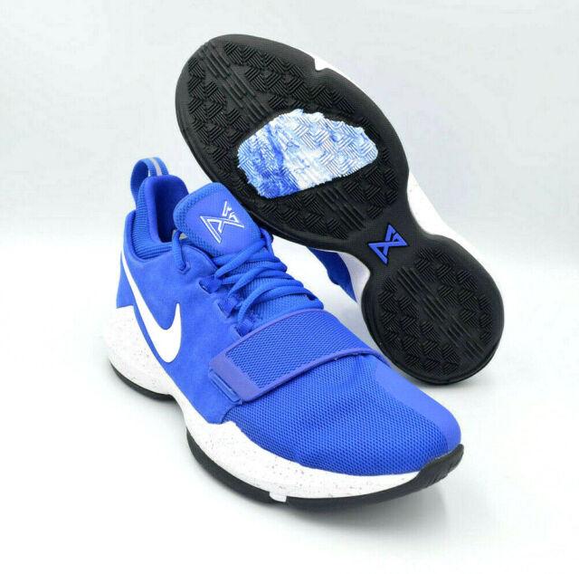 hot sale online 0b21c b62ca Nike PG 1 Paul George Royal Blue White Basketball Shoes [878627-400] Multi  Size