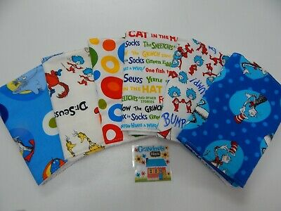 Burp Cloths Boho Blue Heaven 3 Pack Toweling Backed 100/% Cotton Great Gift!!