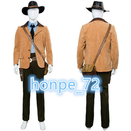 Red Dead Redemption II 2 Arthur Morgan Cosplay Costume Gunslinger Outfit Suit