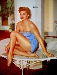 Esther-Williams-1953-Vintage-Pinup-Litho-Virgil-Apger-Photo-Publicity-Promo-COA