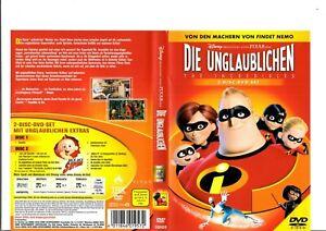 Die-Unglaublichen-2-DVDs-2005-Walt-Disney-DVD