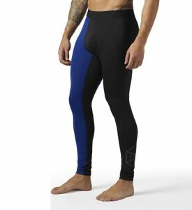 5e45f792c273a Reebok Men's Compression Tight Training CrossFit Leggings BQ3466 | eBay
