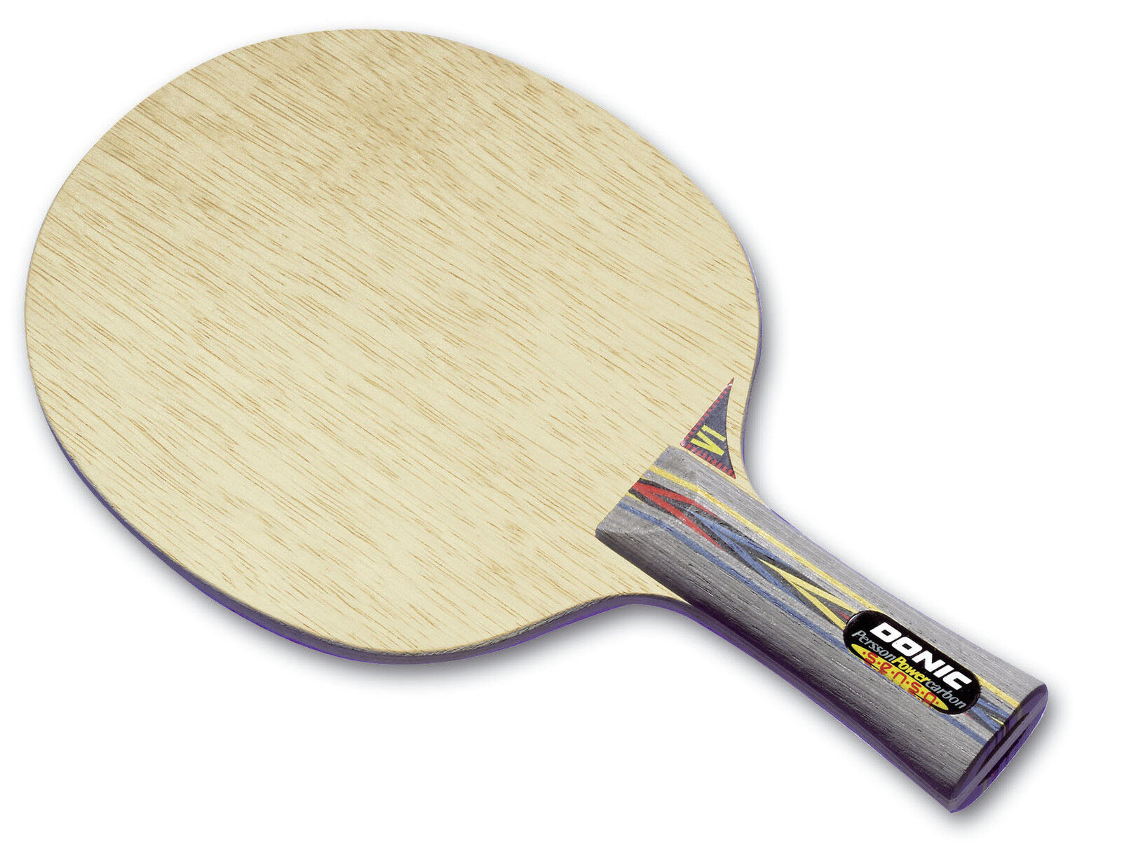 Donic Persson puissance Charbon Tennis de Table-Bois Raquette de Tennis de Table