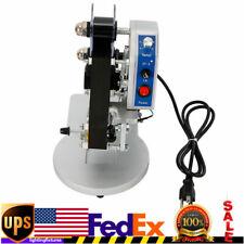 Hot Stamp Printer Ribbon Manual Hot Foil Stamping Printer Date Code Machine Usa