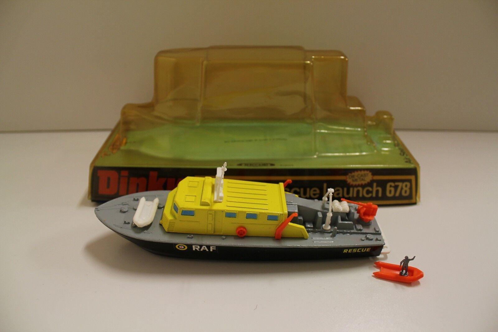 punto vendita DINKY NO  678  Air SEA SEA SEA RESCUE LAUNCH  - GRIGIO NERO (ORIGINALE 1970's scatolaed)  risposte rapide