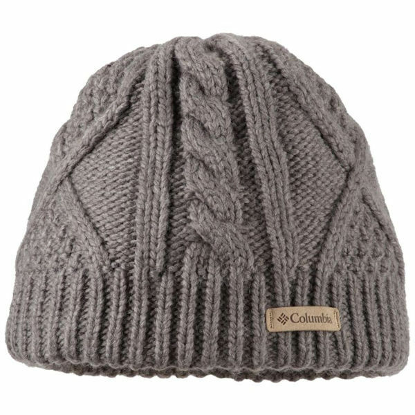 Columbia Women s Cabled Cutie Beanie Charcoal Heather One Size for sale  online  c04460f1f21