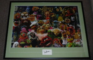 Jim-Henson-Signed-Framed-27x41-Muppets-Poster-Photo-Display-AW