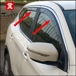 Deflettori Aria Antiturbo Oscurati Nissan Qashqai J11 dal 2014 e
