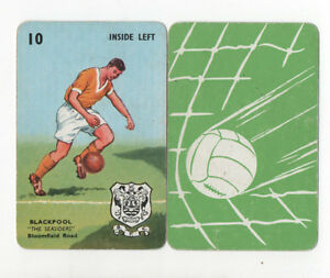 JSCARDS-BLACKPOOL-CARD-PEPYS-GOAL-CARD-GAME-1960-039-S