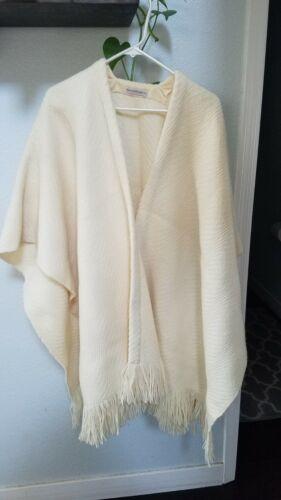 Churchill HandWoven WOW ART CHENILLE Jacket Coat P