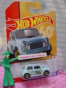 Morris-Mini-1-Blu-Pace-Amore-Anni-039-60-2019-Hot-Wheels-Target-Throwback-Decades