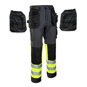 New-Detachable-Multi-Function-Pockets-WORK-TROUSERS-Heavy-Duty-Pants-KneePad