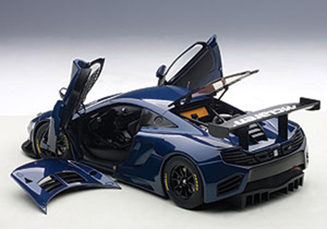 40% de descuento Autoart Autoart Autoart McLaren 12C GT3 Azul Azul en escala 1 18.  Nueva Versión  en Stock   marcas en línea venta barata