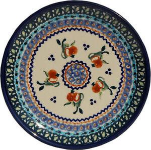 Polish Pottery Plate 6.5 Inch from Zaklady Boleslawiec Polish gu818/du71