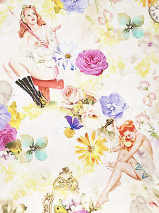 Retro Looks with Floral Print For the Spring of Pin-Up Girls