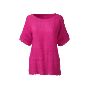Embroidered Linen End 10 Lands Short Magenta Sleeved Dh180 Yy T Size 18 Uk shirt w6qwg1I