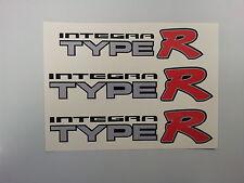 HONDA INTEGRA TYPE R Auto Adesivo Decalcomanie (Set)