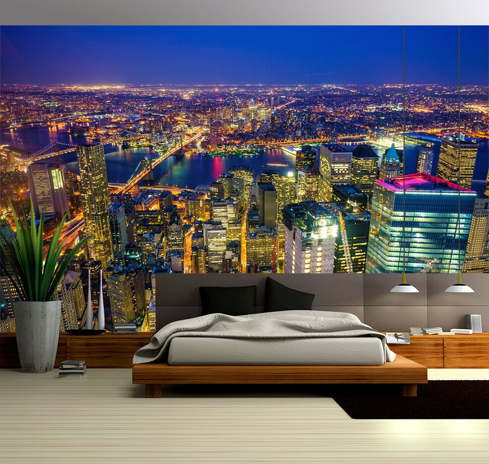 3D Light High Rise 13 Wall Paper wall Print Decal Wall Deco Indoor wall Mural