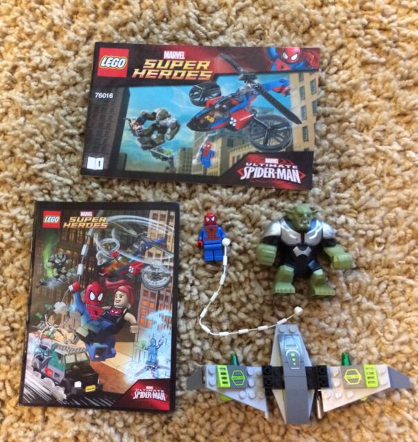 Lego Minifigure Marvel Spider-Man Power Man 76016