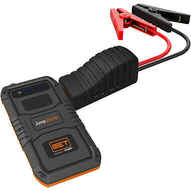 Abile Athena Get Mini Jump Starter 12 Volt Usb Style Car Motorcycle Offroad Atv Harley