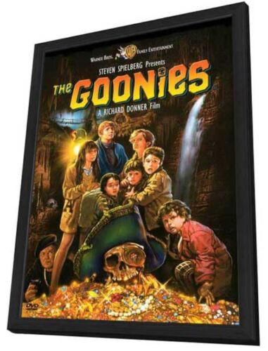 The Goonies Sean Astin Josh Brolin Corey Feldman Original Movie Poster 1985
