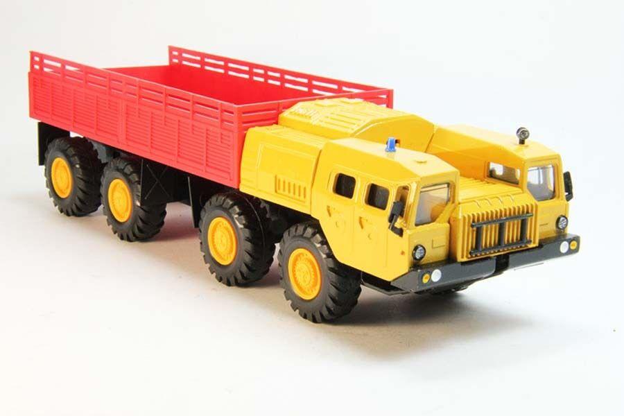 1 43 MAZ-7310  URAGAN  8x8 1962 camion lourd Multi-Couleur URSS elecon