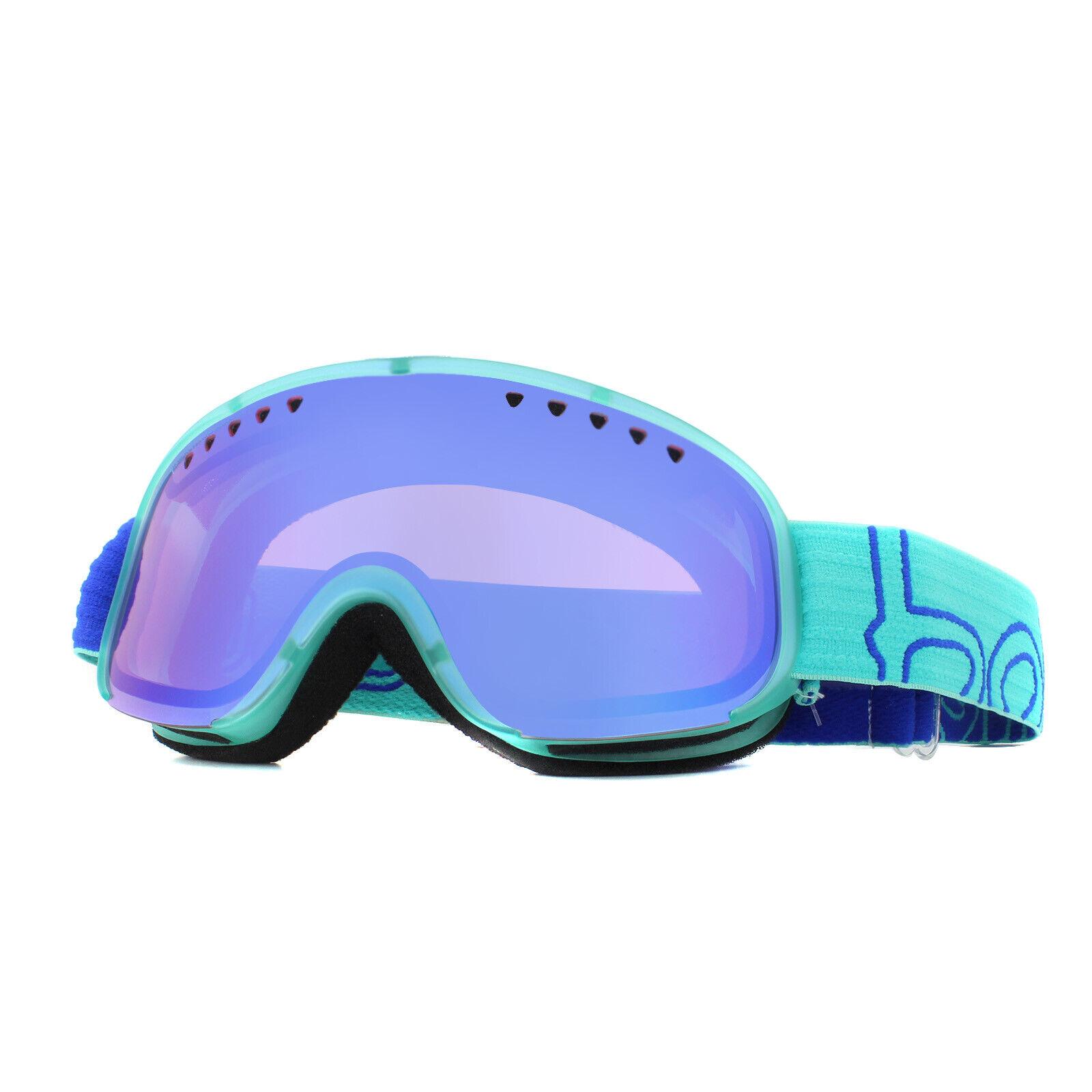 Bolle Skibrille Scarlett 21474 Matt Türkis Blau Modulator Vermillon Blau