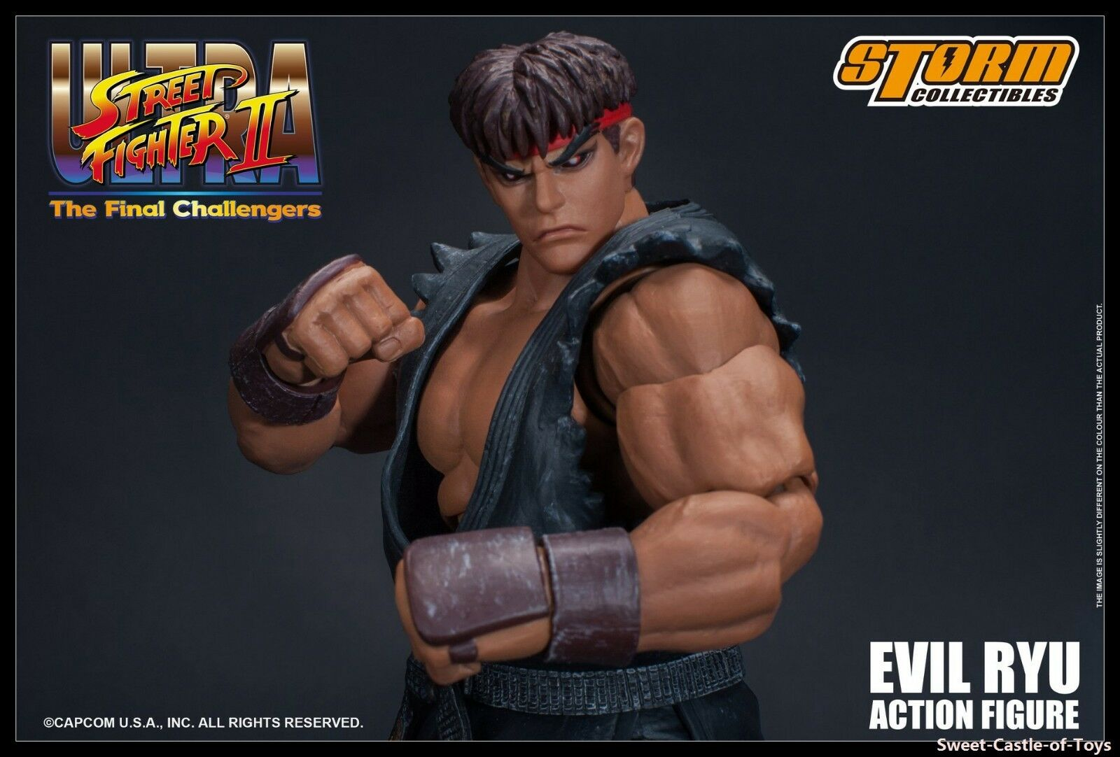 1 12 Storm Toys Ultra Street Fighter II The Final Challengers Evil Ryu In Stock