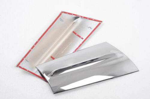 Chrome Rear Window Tail Fin Car Spoiler Cover Trim For Ford EcoSport 2013-2016