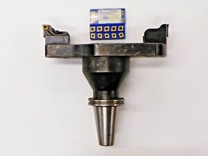 VALENITE-CAT50-TWIN-BORE-13-034-ACROSS-FROM-INSERT-TO-INSERT-CCMT-INSERT-E988