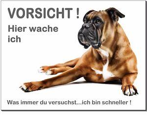 Flight Tracker Boxer-hund-aluminium-schild-0,5-3 Mm Dick-türschild-warnschild-hundeschild Um 50 Prozent Reduziert Möbel & Wohnen Schilder & Plaketten