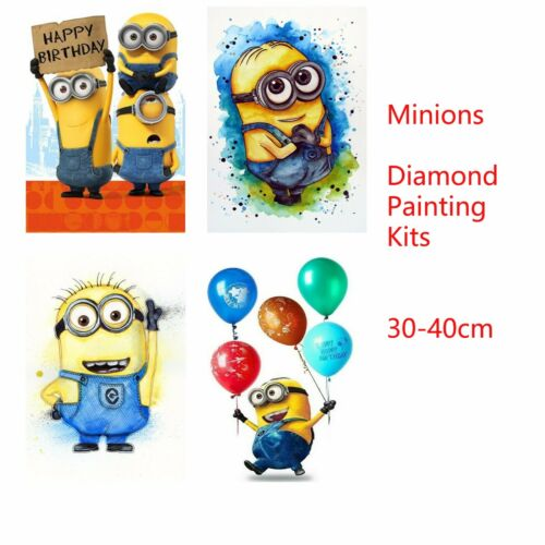Minions 5D DIY Round Full Drill Diamond Painting Embroidery Cross Stitch Kits