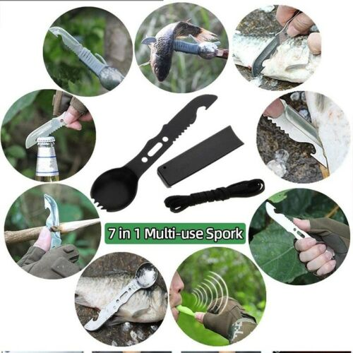 Tactical Backpack Survival Gear Kit Camping Hunting Axe EDC Tools for Outdoor