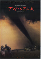 TWISTER MOVIE POSTER 27x40 ORIGINAL 1996 TORNADO FILM
