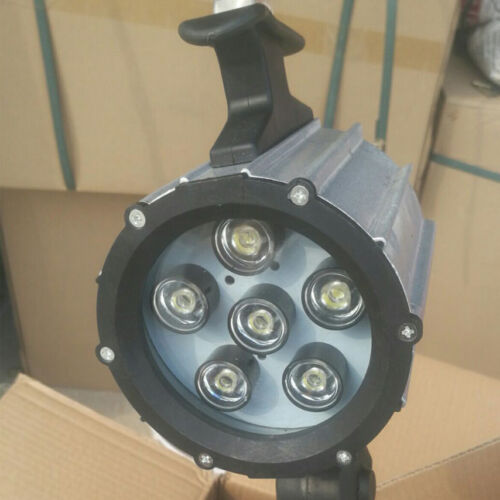 Waterproof Aluminium LED Work light 6W for Lathe CNC Milling Machine 50,000Hrs
